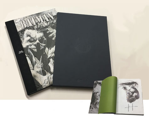 BATMAN: SECRETS-SAM KIETH Gallery Edition • Limited Signed Edition