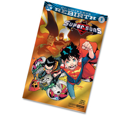 SUPER SONS #1-2017 DC CONVENTION EXCLUSIVE VARIANT COMIC