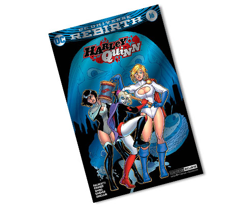 HARLEY QUINN #16-2017 DC CONVENTION EXCLUSIVE VARIANT COMIC