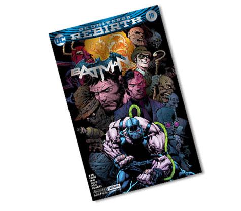 BATMAN #19-2017 DC CONVENTION EXCLUSIVE VARIANT COMIC