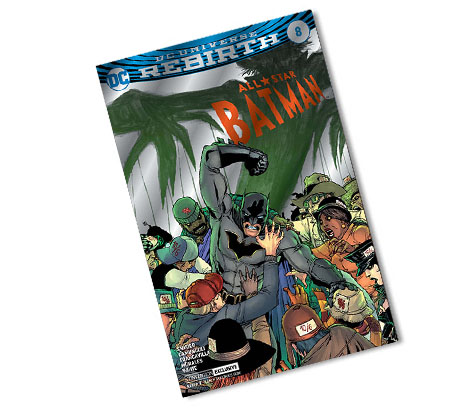 ALL-STAR BATMAN #8-2017 DC CONVENTION EXCLUSIVE VARIANT COMIC