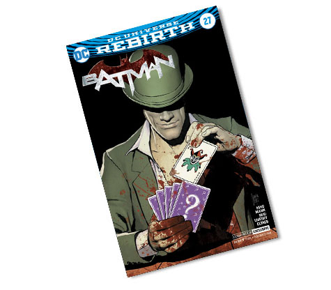 BATMAN #27-2017 DC CONVENTION EXCLUSIVE VARIANT COMIC