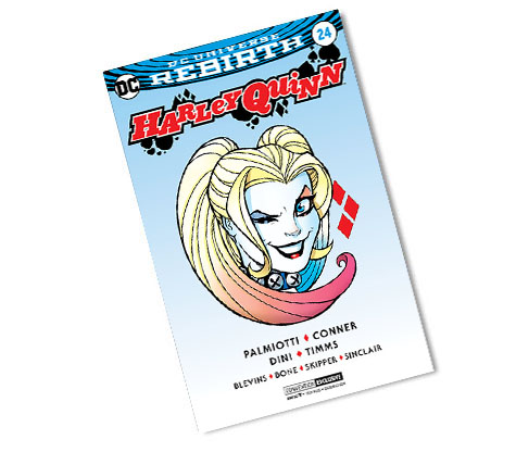 HARLEY QUINN #24-2017 DC CONVENTION EXCLUSIVE VARIANT COMIC