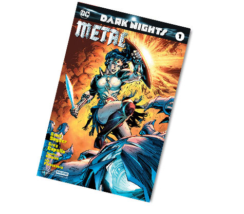 DARK NIGHTS: METAL #1-2017 DC CONVENTION EX. VARIANT COMIC
