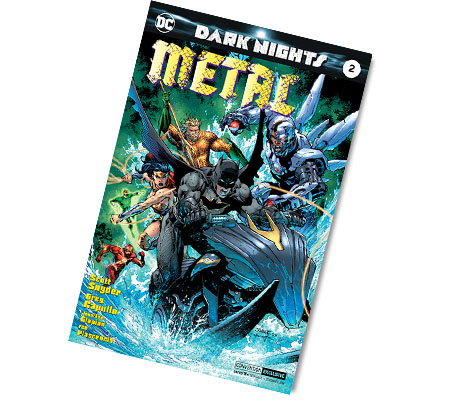 DARK NIGHTS: METAL #2-2017 DC CONVENTION EX. VARIANT COMIC