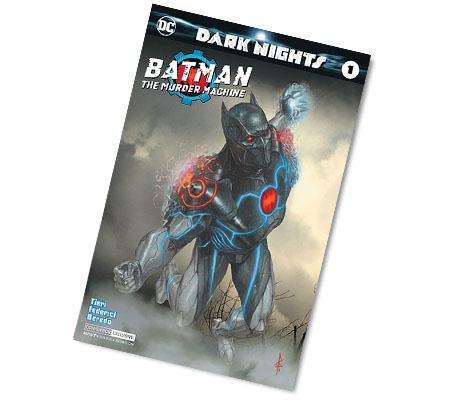 BATMAN: THE MURDER MACHINE #1-2017 DC CONV. EX. VARIANT COMIC