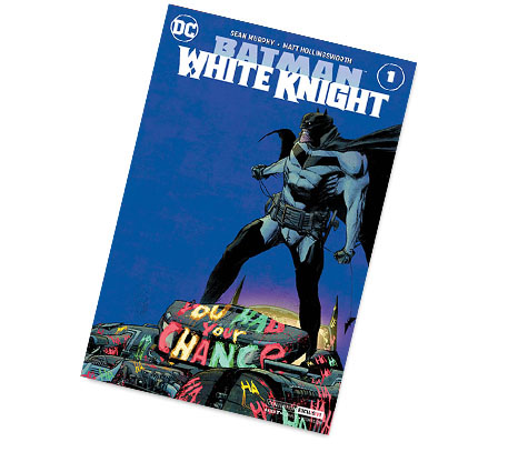 BATMAN: WHITE KNIGHT #1-2017 DC CONVENTION EX. VARIANT COMIC