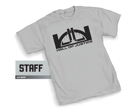 HALL OF JUSTICE: STAFF T-Shirt