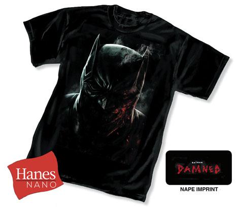 BATMAN: DAMNED T-Shirt by Lee Bermejo