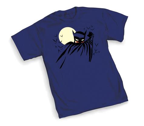 BATMAN: CAPED T-Shirt by Michael Cho