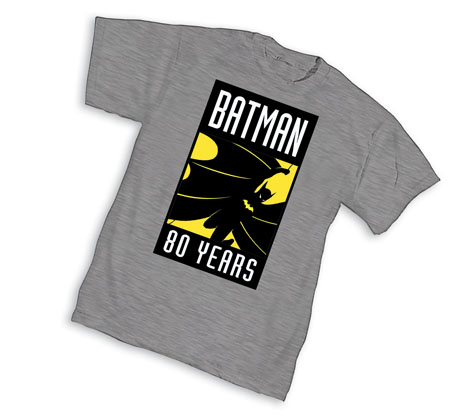 BATMAN 80th: LOGO II T-Shirt