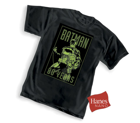BATMAN 80th: BATMAN & JOKER T-Shirt by Jim Lee