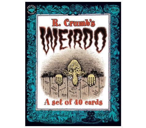 WEIRDO TRADING CARDS