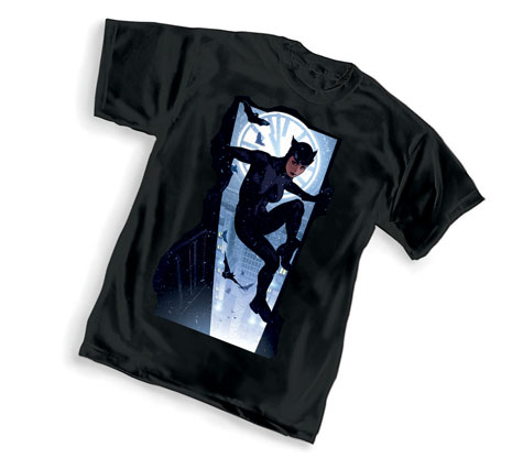 CATWOMAN: WALL T-Shirt by Adam Hughes