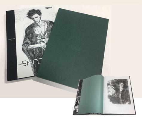 THE SANDMAN: OVERTURE-J.H. WILLIAMS III Gallery Edition • Ltd. Signed