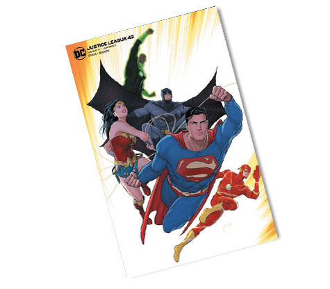 JUSTICE LEAGUE #42-2020 DC COMIC Convention Exclusive