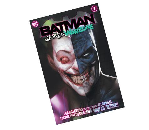 BATMAN: THE JOKER WAR ZONE #1-2020 DC COMICS EXCLUSIVE COMIC