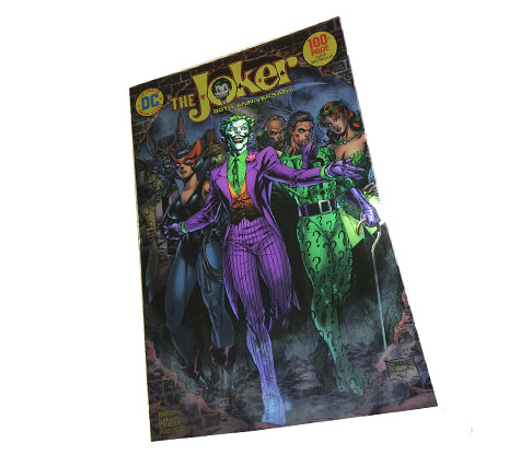 JOKER 80th 100 PAGE-2020 NYCC EXCLUSIVE COMIC