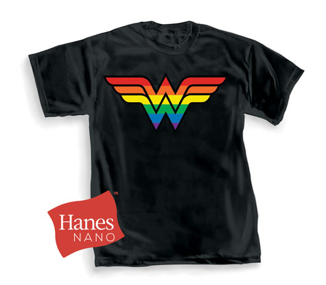 WONDER WOMAN: PRIDE SYMBOL T-Shirt