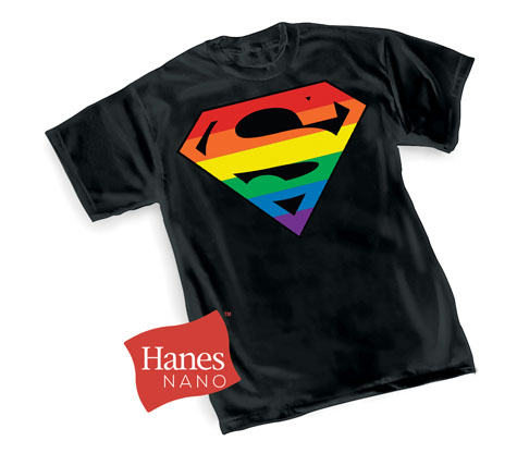 SUPERMAN: PRIDE SYMBOL T-Shirt