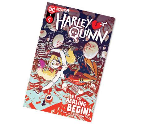 HARLEY QUINN #1-2021 DC COMICS WONDERCON EXCLUSIVE COMIC